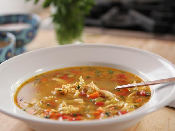 Homemade Chicken and Rice Soup Pressure Cooker Recipe