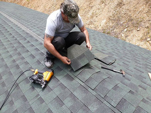 How to Shingle a Gambrel Roof 1