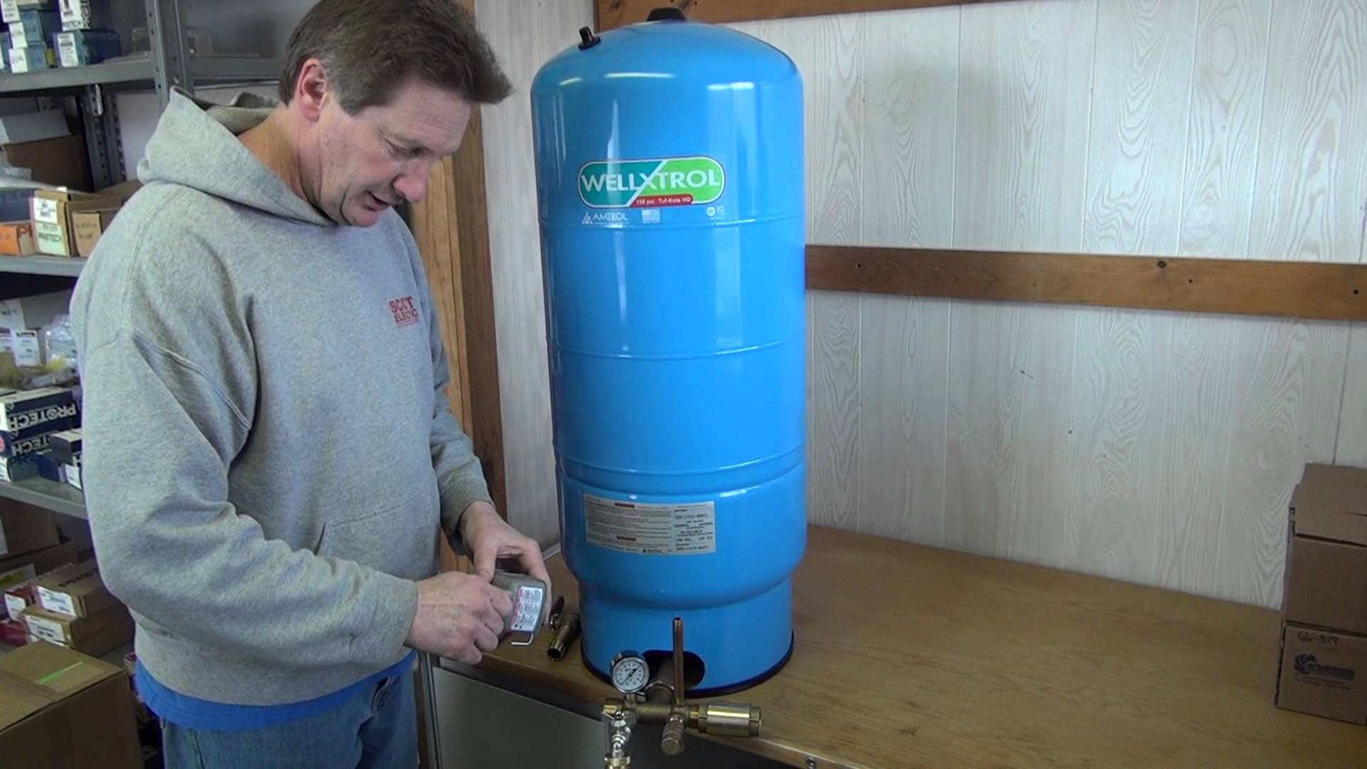 How to use Well Pressure Tanks?
