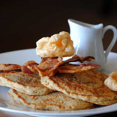 Pork Rind (Chicharron) Pancakes