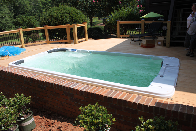 How to Reinforce a Deck for a Hot Tub