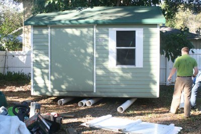 How to Jack Up a Shed