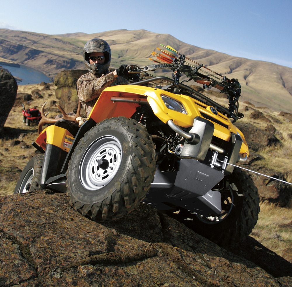​Look at the weight of the ATV winch itself