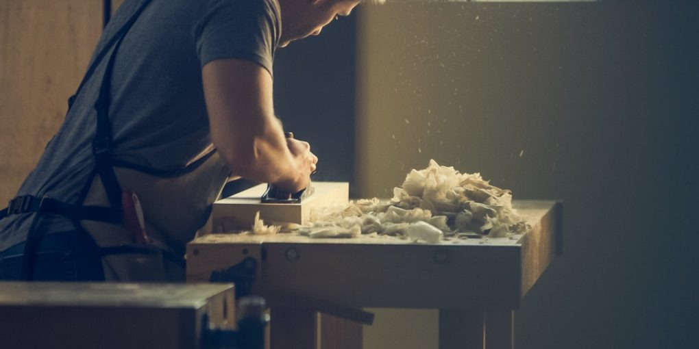 How woodworkers join wood together